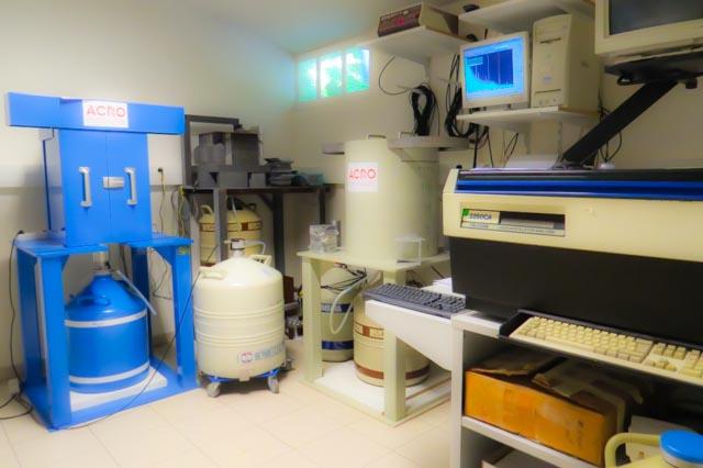 ACRO - salle de mesure